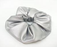 №10168 Резинка экокожа серебро Д-12см