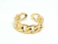 №10497 Кольцо XuPing золото 14К One-size