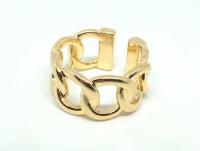 №10499 Кольцо XuPing золото 14К One-size