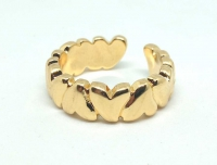 №10500 Кольцо XuPing золото 14К One-size