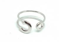 №10502 Кольцо XuPing серебро One-size