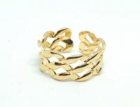 №10508 Кольцо XuPing золото 14К One-size
