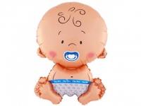 №105081 fed_ Пупсик мальчик 65 см.