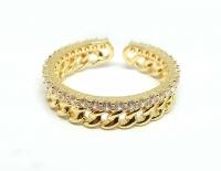 №10510 Кольцо XuPing золото 14К One-size