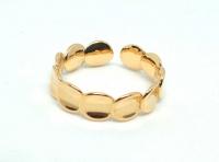 №10514 Кольцо XuPing золото 14К One-size