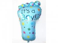 №10649 fed_ Шарик нога It's a Boy