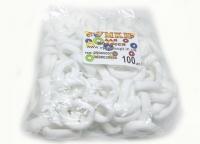 №1085 Резинка Коломыя белая 100-ка, диам. 2см