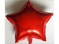 №11165 fed_ Звезда 18 дюймов (45х45см) красная Китай(слабо летает)