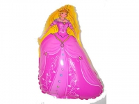 №11256 fed_ Шарик Принцеса розовая ном.2 58х40см