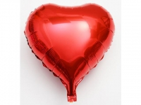 №11257 fed_ Сердце 18 дюймов(45х45см) красное Китай