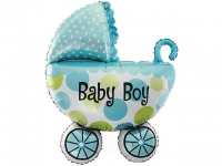 №11339 fed_ Коляска Baby Boy(голубя) 60х80см.(большая)