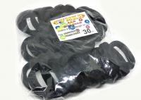 №1136 Резинка Коломыя черная 30-ка, диам. 4.5см