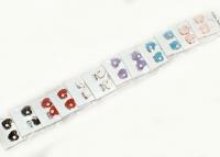 №1213 Сережки гвоздики сердечки