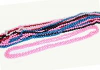 №1820 Бусы жемчуг цветные длинные