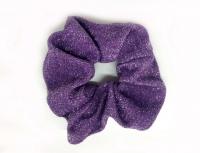 №2089 Резинка жатка люрекс фиолет. 11см