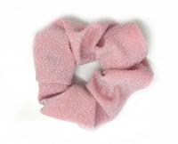 №2093 Резинка жатка люрекс розов. 11см