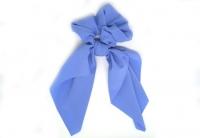 №2128 Резинка твилли софт однотон синяя