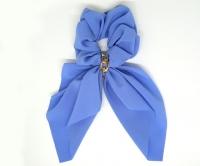 №2183 Резинка жатка твилли цепь синяя