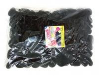 №2476 Резинка махр.черная 120-ка Д-3.2см