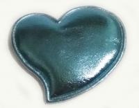 №42511 Заготовка Сердце бирюза