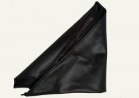 №5427 Платок экокожа черный треугольный 100х67х67