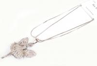 №5898 Ожерелье серебро девочка длинная цепочка