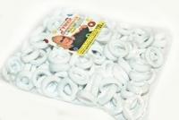 №596 Резинка микрофибра белая 120-ка
