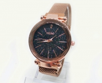 №5976 Часы кварцевые Meibo магн.браслет