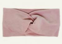 №8051 Повязка плюш (спорт-велюр) розов. 21х11см