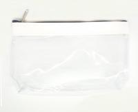 №8089 Косметичка прозрачная с белым