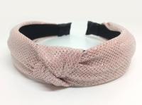 №8128 Обруч блестящий розовый шир.3.7см
