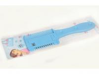 №924 Расческа с лезвием синяя